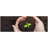 cotar terra adubada para grama de jardim Itupeva