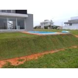 grama natural para jardim preço Campo Grande