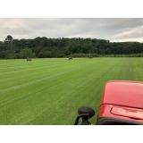 instalação de grama em campo