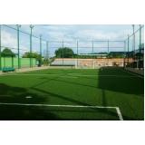 instalação de grama para campo de futebol