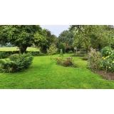 instalação de grama em jardim Americana