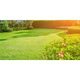 instalação de gramas em jardim Presidente Prudente