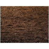 terra adubada e terra vegetal valor Sorocaba