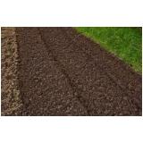 terra adubada jardim melhor preço Bauru